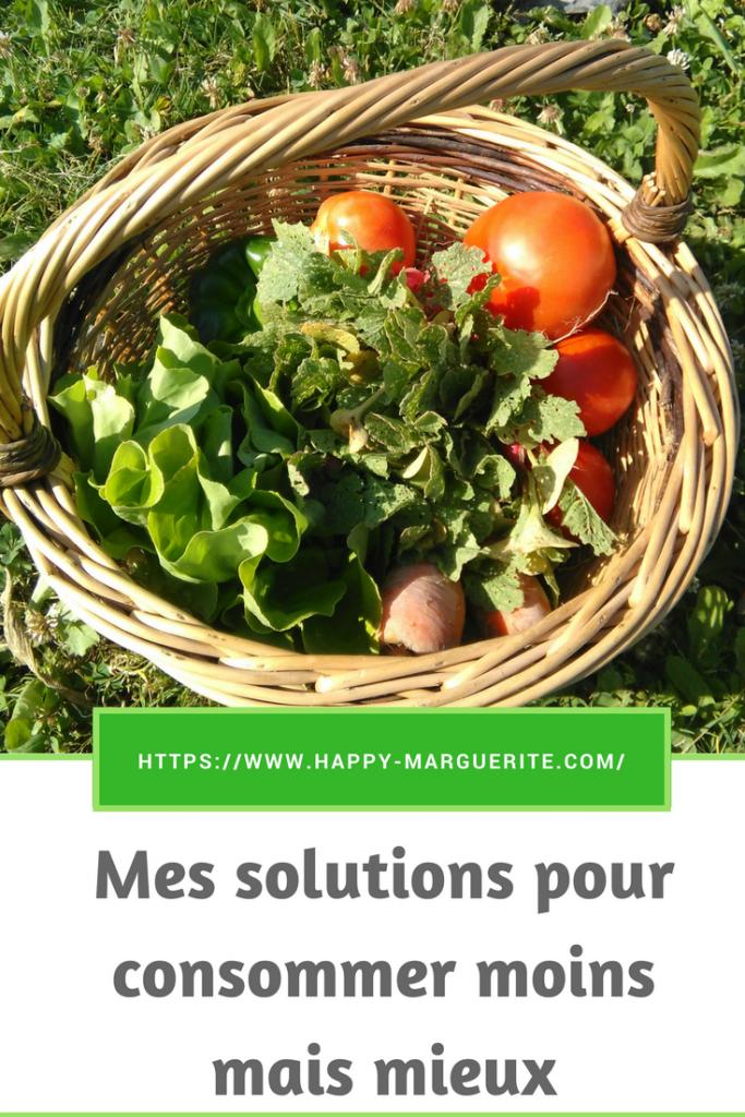 Mes solutions pour consommer moins mais mieux et devenir plus minimaliste