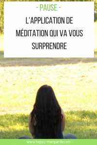 Meditation avec pause ou petit bambou