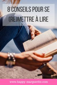 Conseils pour apprécier la lecture