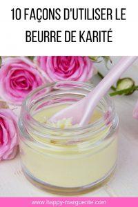 propriétés beurre de karité